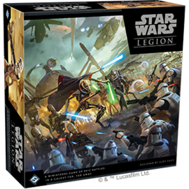 FANTASY FLIGHT FFG SWL44 LEGION CLONE WARS STARTER SET