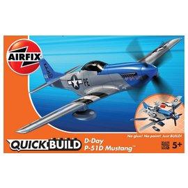 AIRFIX AIR J6046 P51D SPITFIRE QUICK BUILD SNAP