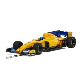SCALEXTRIC SCA C4022 2018 MCLAREN F1 FERNADO ALONSO 1/32 SLOT CAR