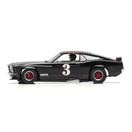 SCALEXTRIC SCA C4014 Ford Mustang TRANS AM 1972 1/32 SLOT CAR