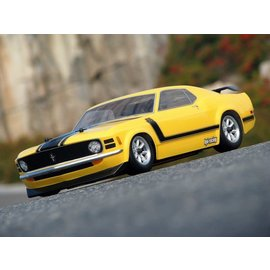 HPI RACING HPI 17546 1970 BOSS MUSTANG 200MM CLEAR BODY