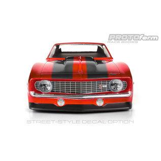 Proline Racing PRO 156240 VTA-200MM 1969 CAMARO Z28 CLEAR BODY