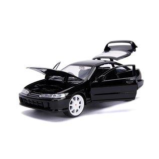 JADA TOYS JAD 30930 INTEGRA 1995 TYPE R BLACK 1/24 DIECAST