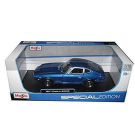 MAISTO MAI 31170BLUE 1971 DATSUN 240Z 1/18 BLUE