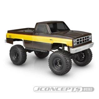 JCO 0363 1982 GMC K10 Clear Body 12.3 WB