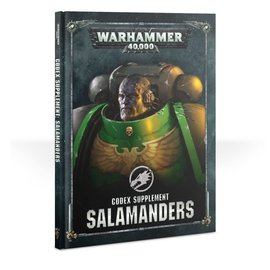 GAMES WORKSHOP WAR 60030101048 CODEX SALAMANDERS