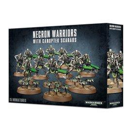 GAMES WORKSHOP WAR 99120110034 NECRON WARRIORS WITH CANOPTEK SCARABS