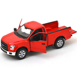 WELLY WEL 24063W 2015 FORD F150 1/24 DIECAST RED