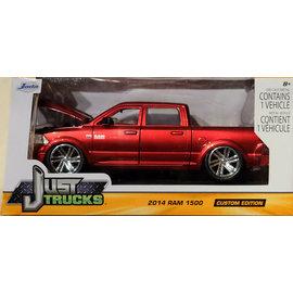 JADA TOYS JAD 97133 2014 DODGE RAM 1500 1/24 DIECAST RED