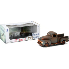 GREENLIGHT COLLECTABLES GLC 12968 FORREST GUMP TRUCK 1/18 DIECAST 1951 FORD