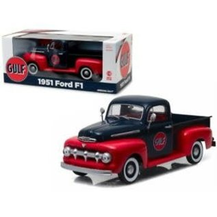 GREENLIGHT COLLECTABLES GLC 12978 1951 FORD F1 PICKUP GULF 1/18 DIECAST