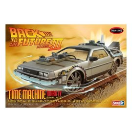 POLAR LIGHTS POL 932 Back Future III Final Act Time Machine SNAP KIT
