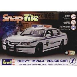 REVELL USA RMX 851928 SNAP TITE POLICE CAR 1/25 MODEL KIT