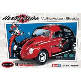 POLAR LIGHTS POL 944 1/24 DC Comics Harley Quinn VW Beetle, Snap