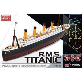 Academy/Model Rectifier Corp. ACA 14217 1/1000 RMS Titanic SNAP KIT