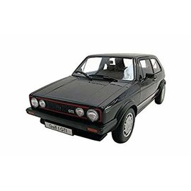 WELLY WEL 18039BK 1983 VW GOLF 1 GTI BLACK 1/18 DIECAST