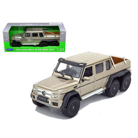 WELLY WEL 24061WGLD MERCEDES 6X6 1/24 DIECAST