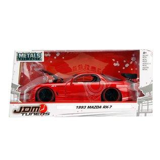 JADA TOYS JAD 98677 1993 MAZDA RX7 1/24 RED DIECAST