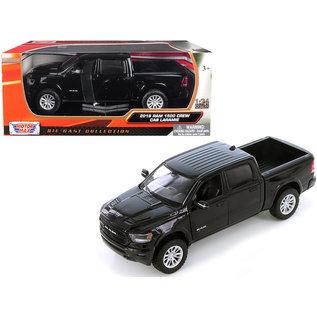 MOTOR MAX MOT 79357BK BLACK 2019 Dodge Ram LARAMIE 1/24 DIECAST