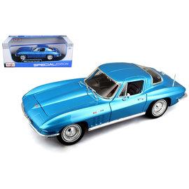 MAISTO MAI 31640 1965 CORVETTE 1/18 DIECAST BLUE