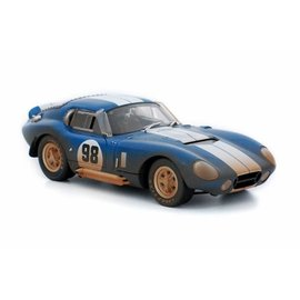 SHELBY COLLECTABLES SHE 133 1965 SHELBY COBRA DAYTONA DIRTY 1/18 DIECAST