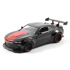 JADA TOYS JAD 98137 2016 CAMARO SS BLACK WIDEBODY