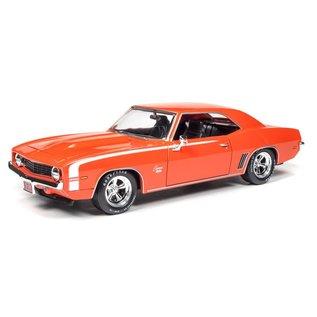 AUTOWORLD AMM AW24004 1:24 1969 Chevrolet CamaroSS DIECAST