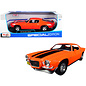 MAISTO MAI 31131ORG 1971 CHEVY CAMARO ORANGE 1/18 DIECAST