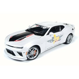 AUTOWORLD AMM AW236 2017 CAMARO INDY 50TH ANNIV 1/18