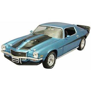 AUTOWORLD AMM 1013 1/18 Baldwin Motion 1971 Chevrolet Camaro Ascot Bl