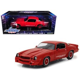 GREENLIGHT COLLECTABLES GLC 12999 1981 CAMARO YENKO TURBO RED 1/18 DIECAST
