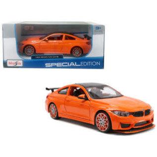 MAISTO MAI 31246O BMW M4 1/24 ORANGE DIECAST