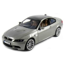MOTOR MAX MM 73182G BMW M3 COUPE GREY 1/18 DIECAST