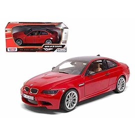 MOTOR MAX MM 73182R BMW M3 COUPE RED 1/18 DIECAST