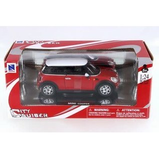 NRY 71023R BMW COOPER 1/24 RED DIECAST