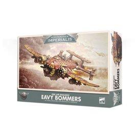 GAMES WORKSHOP WAR 99121803003 ORK AIR WAAAGH EAVY BOMMERS