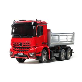 TAMIYA TAM 56361 ARCOS TIPPER PAINTED RED/SILVER RC KIT