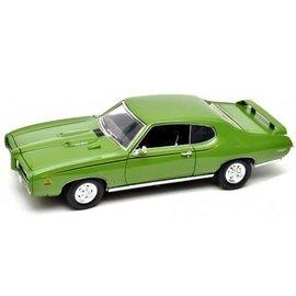 MOTOR MAX MOT 73133G GTO JUDGE 1969 GREEN DIECAST 1/18