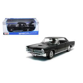 MAISTO MAI 31885 GTO 1965 HARDTOP 1/18 BLACK DIECAST