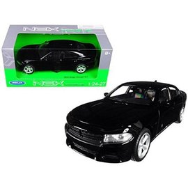 WELLY WEL 24079W-BK 2016 Dodge Charger R/T BLACK 1/24 DIECAST