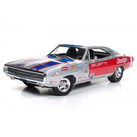 AUTOWORLD AMM AW238 DICK LANDY 1970 DODGE CHARGER R/T 1/18 DIECAST