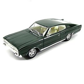 YATMING L/T 92638GR 1966 Dodge Charger GREEN 1/18 DIECAST