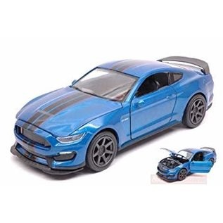 NRY 71833A Ford Mustang Shelby gt350 blue 1/24 die cast