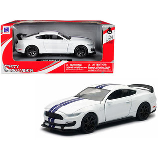 NRY 71833B FORD SHELBY GT 350R WHITE 1/24 DIECAST