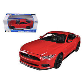 MAISTO MAI 31508R 2015 FORD MUSTANG GT RED 1/24 DIECAST