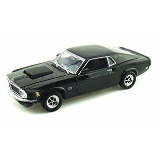 MOTOR MAX MOT 73154BK 1970 FORD MUSTANG BOSS 429 1/18 DIECAST