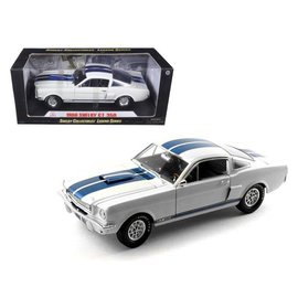 SHELBY COLLECTABLES SHE 160WH 1966 SHELBY GT 350 1/18 DIECAST