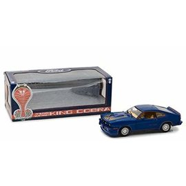 GREENLIGHT COLLECTABLES GLC 13507 1978 FORD KING COBRA BLUE MUSTANG 1/18 DIECAST