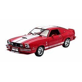 GREENLIGHT COLLECTABLES GLC 12940 1978 MUSTANG COBRA 1/18 RED DIECAST