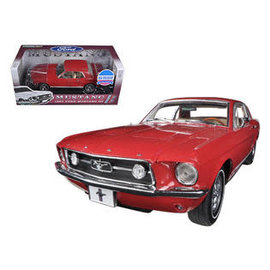 GREENLIGHT COLLECTABLES GLC 50842 1967 MUSTANG GT RED 1/18 DIECAST
